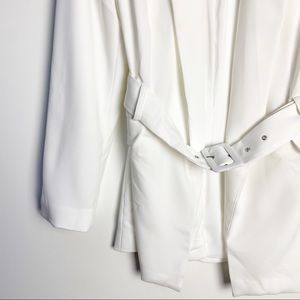 NBD Jackets & Coats - NWT NBD Niko Blazer in White